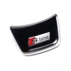 Audi S line Lenkrad Abdeckung mitte A1 A6 A7 A8 Emblem Logo Lenkradabdeckung