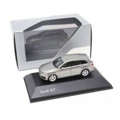 Audi Q7 1:87 Karatbeige 5011407612 Modellauto Miniatur Beige Herpa Original