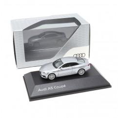 Audi A5 Coupe 1:87 Florettsilber 5011605421 Modellauto Miniatur Silber Herpa Original