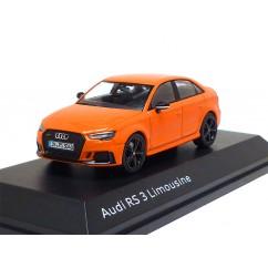 Audi RS 3 Limousine 1:43 Glutorange 5011613132 Modellauto iScale RS3 Miniatur