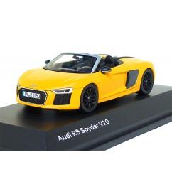 Audi R8 Spyder V10 1:43 Vegasgelb 5011618531 Herpa Modellauto gelb