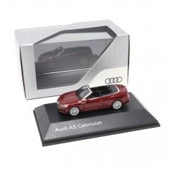 Audi A5 Cabriolet 1:87 Matadorrot 5011705321 Modellauto Miniatur Grau Herpa Original
