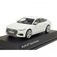 Audi A7 Sportback 1:43 Gletscherweiss 5011707031 Modellauto iScale Miniatur
