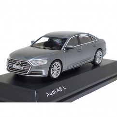 Audi A8 L 1:43 Monsungrau 5011708131 iScale Minatur Modellauto