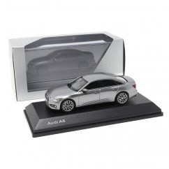 Audi A6 C8 Limousine Taifungrau 1:43 Modellauto 5011806131 Miniatur Grau iScale Original