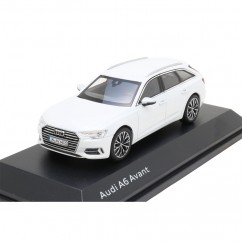Audi A6 C8 Avant Gletscherweiß 1:43 Modellauto 5011806231 Miniatur Weiss