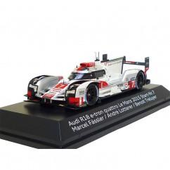 Audi R18 e-tron quattro 1:43 Le Mans 2015 Nr. 7 Fässler Lotterer Treluyer