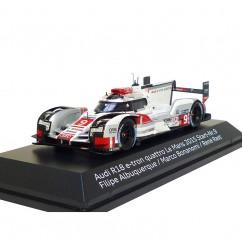 Audi R18 e-tron quattro 1:43 Le Mans 2015 Nr. 9 Albuquerque Bonanomi Rast 5021500333
