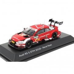 Audi RS 5 DTM 2018 René Rast 1:43 Modellauto