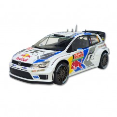 VW Polo R WRC Nr. 1 Ogier Ingrassia Version 2014 Norev 1:18