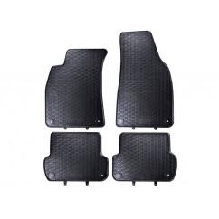 Audi Gummifussmatten Satz A4 8E vorn hinten Gummimatten Gummi Fußmatten Matten