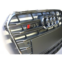 Audi Original S5 A5 Facelift Kühlergrill Platiniumgrau Chrom Frontgrill Grill
