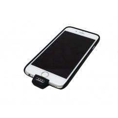 Audi Original iPhone 6 6S Wireless Ladehülle 8W0051435 Qi fähig Cover Schale