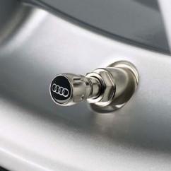 Audi Ventilkappen 4er Set 80A071215 universell Satz für alle Ventile Audi Ringe