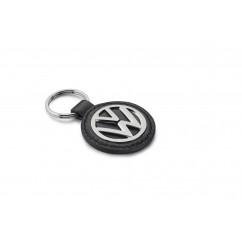 Volkswagen Leder Schlüsselanhänger VW Logo