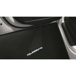 Audi LED Einstiegsleuchten quattro 4G0052130H Türeinstiegsbeleuchtung