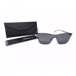 Skoda IV Sonnenbrille UV 400 Brille Unisex Silber Grau 000087900AG