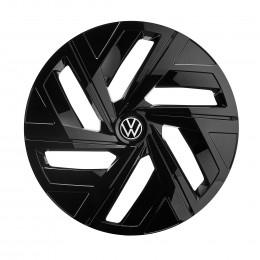 VW ID.4 Radkappensatz Radzierblenden Schwarz Hochglanz Radkappen 11A071459 ZKC