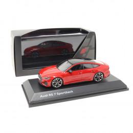 Audi RS7 Sportback 1:43 Modellauto 5011917031 Miniatur Tangorot RS 7 Rot Original Minimax