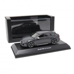 Audi RS6 Avant 1:43 Modellauto 5012016231 Miniatur Daytonagrau matt RS 6 Grau Original