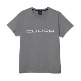 Cupra Herren T-Shirt Grau mit weißem Logo S M L XL XXL T Shirt