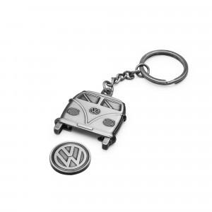 Volkswagen Wolfsburg Edition Schlüsselanhänger aus Leder
