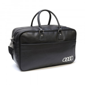 Audi Freizeittasche 3151800710 Schwarz Tasche Reisetasche Sporttasche Shopper Original Collection