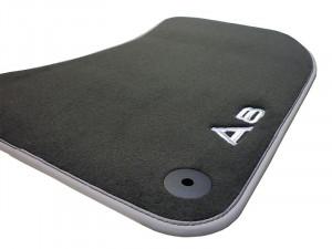 Audi Original A8 4H Textilfußmatten Premium 4H1061275 MNO Stoffmatten Velours