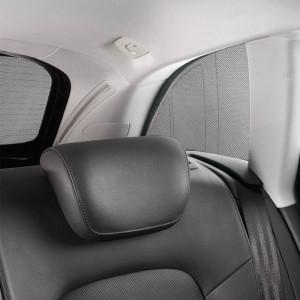 AUDI Ringe hinten Heck Kofferraum AUDI Q3 RSQ3 8U Emblem schwarz glänzend