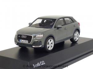Audi Q2 Quantumgrau Modellauto 1:43 iScale 5011602633 1/43 Miniatur Grey Grau Modell Auto Sammler