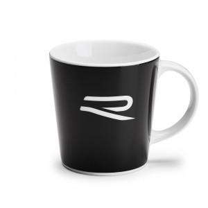VW R Tasse Kaffeebecher Coffee Mug Kaffeetasse Becher Schwarz Weiß 5H6069601