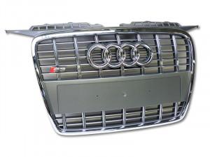 Audi Original S3 8P Kühlergrill Frontrgrill Chrom Platiniumgrau A3 Nachrüstung 8P0853651A 1RR