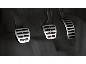 Audi Original A1 8X Alu Pedalkappen 8X1064200 Set Edelstahl Sportback